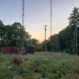 The communications equipment on Black Mountain
