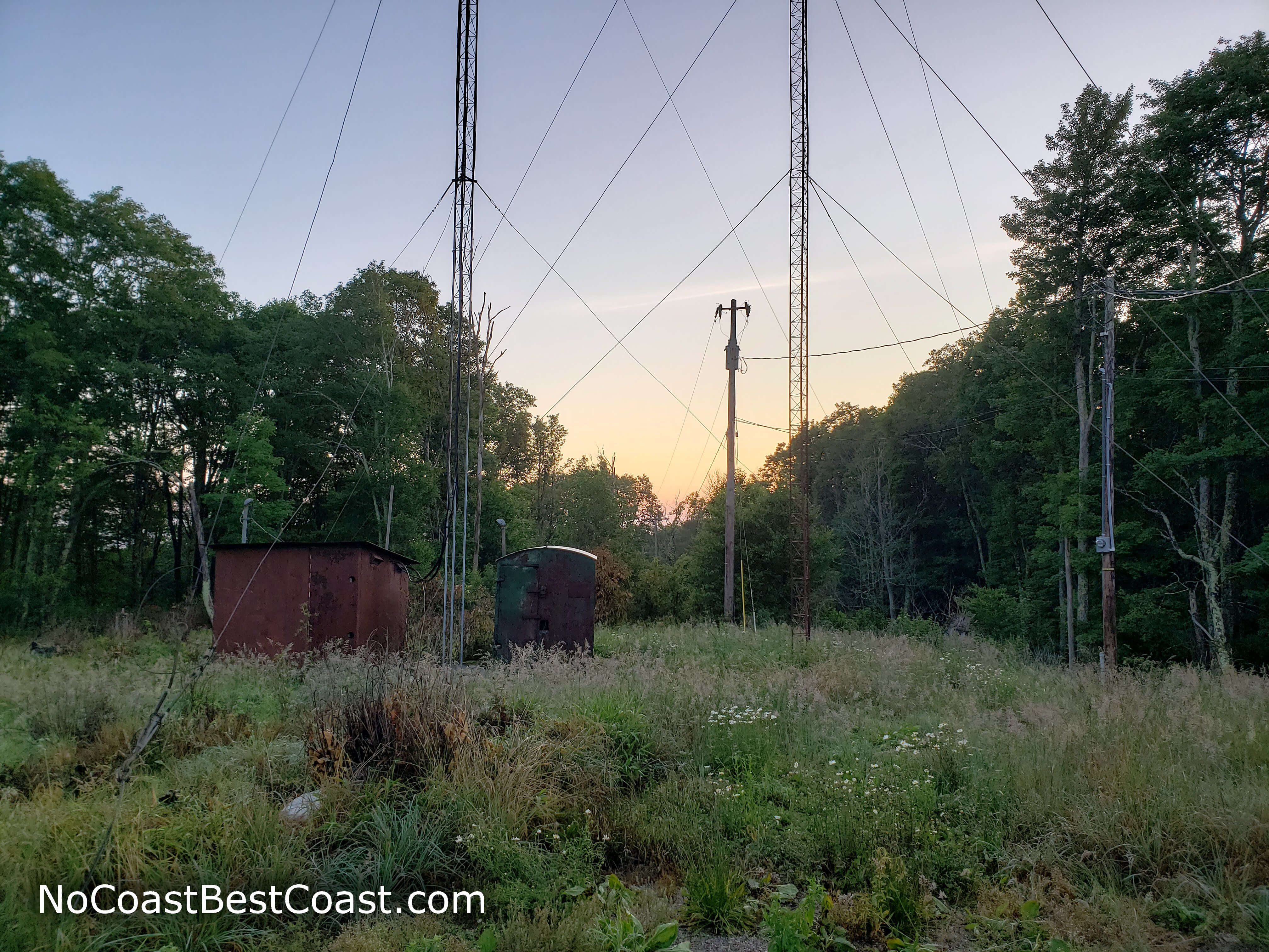 Some of the communications equipment on Black Mountain