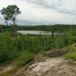 The view from the Moose Pond Overlook is spectacular