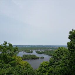 The view from the North Overlook