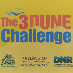 Follow these signs to take the Three Dune Challenge