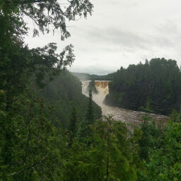 Kakabeka Falls from a distance