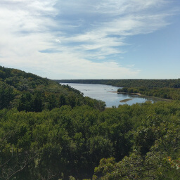 Overlooking the St. Croix River
