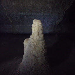 After this tour, you will finally remember that this is a stalagmite and not a stalactite