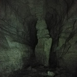 Just one of many creepy narrow passages you will walk past in Mystery Cave