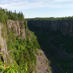 More views of Ouimet Canyon