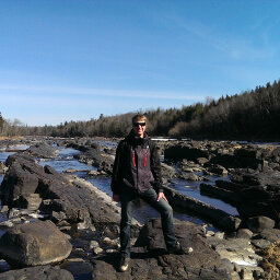 Ricky at Jay Cooke State Park near Duluth, MN