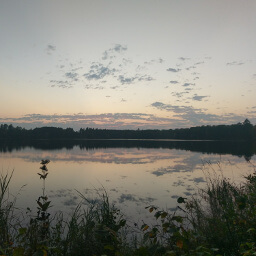 This is the perfect hike to watch the sunset over Lake Shumway