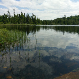 You will likely have the glassy waters of this gorgeous lake all to yourself
