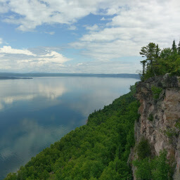 The view of Thunder Bay from the overlook