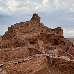 Small rooms on the south end of Wupatki Pueblo